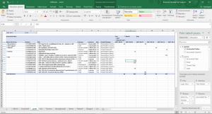 Tabela przestawna Excel ze źródłem danych w wielowymiarowej bazie dla OTRS