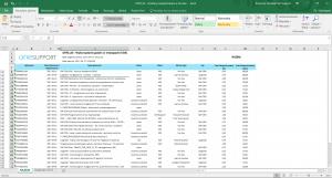 SSRS SQL Server Reporting Services - Raport z rozliczeniem godzin OTRS wyeksportowany do Excel
